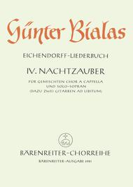 Nachtzauber for Mixed Choir a cappella und Solo-Sopran