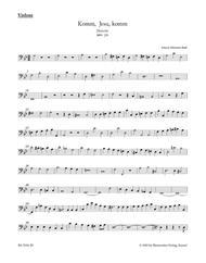 Komm, Jesu, komm, BWV 229