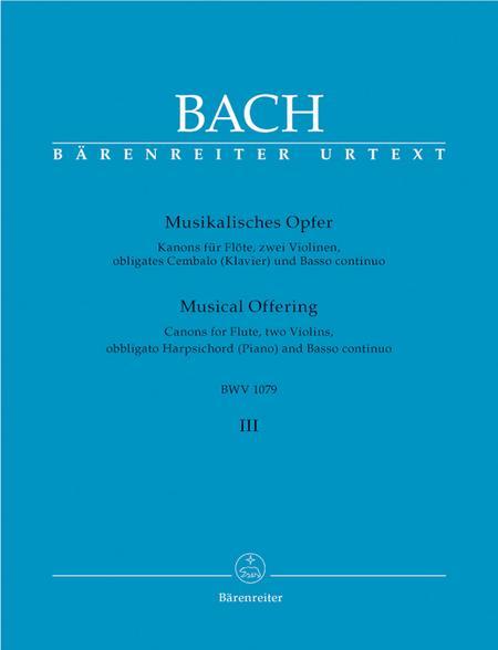 Musical Offering, BWV 1079