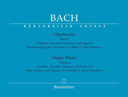 Organ Works, Volume 6