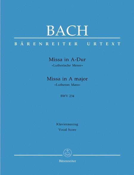 Missa In A Major, BWV 234