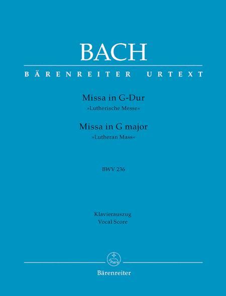 Missa In G Major, BWV 236