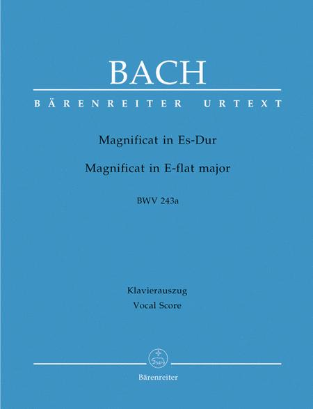 Magnificat In Eb Major, BWV 243a