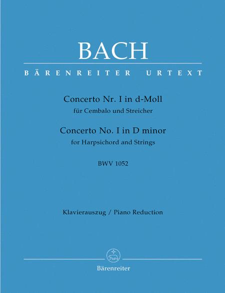 Concerto for Harpsichord and Strings No. 1 d minor BWV 1052