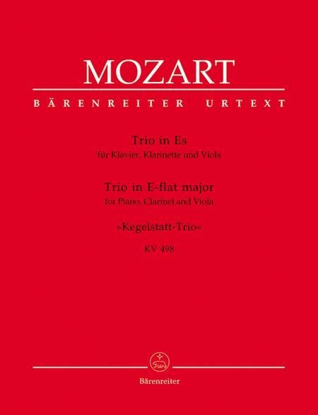 Piano Trio In Eb Major, K. 498