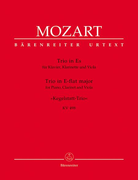 Trio for Piano, Clarinet and Viola E flat major, KV 498