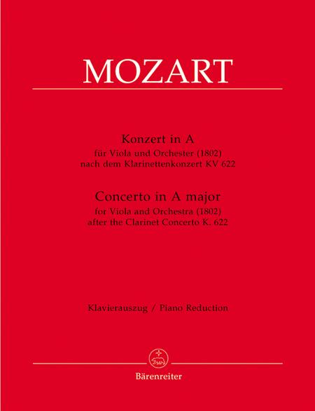 Concerto for Viola and Orchestra A major