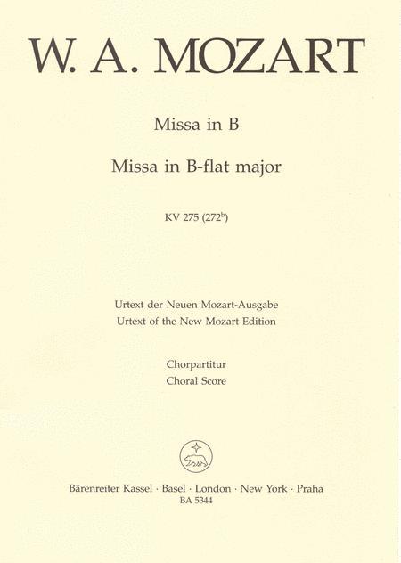 Missa brevis B flat major, KV 275 (272b)