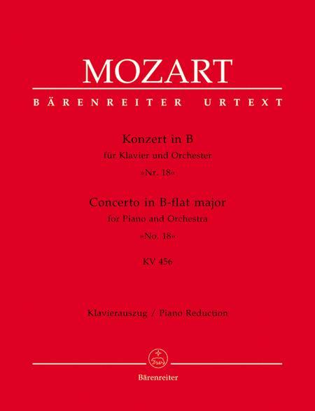 Concerto for Piano and Orchestra, No. 18 B flat major, KV 456