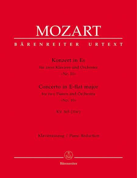 Piano Concerto, No. 10 E flat major, KV 365 (316a)