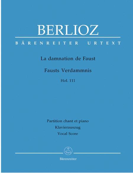 La damnation de Faust op. 24 Hol. 111