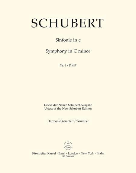 Symphony, No. 4 c minor D 417 'Tragic'