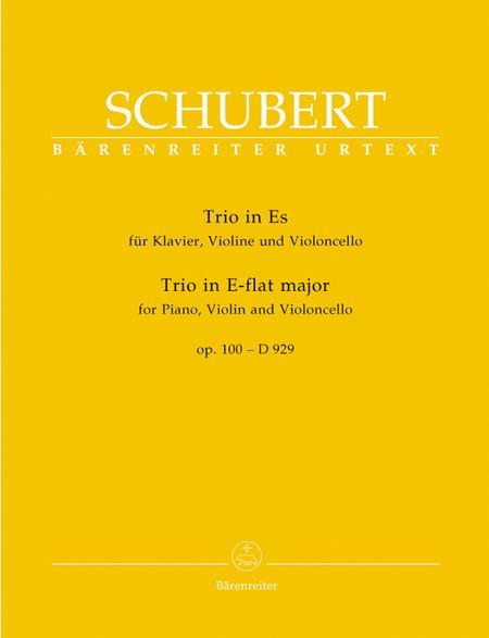 Piano Trio In Eb Major, D 929