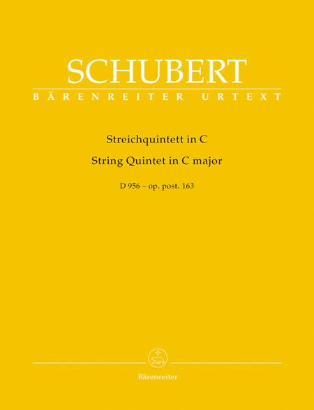 String Quintet C major op. post 163 D 956