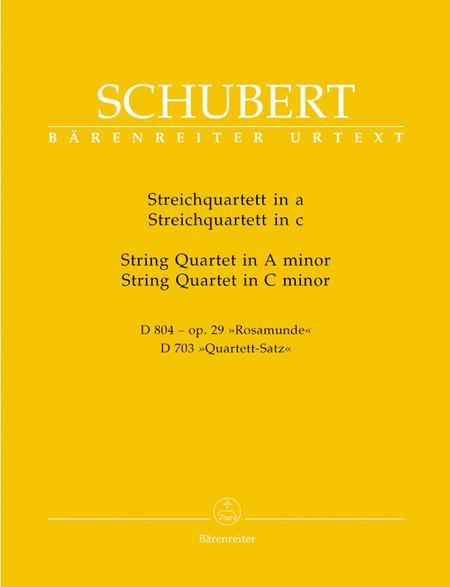 Two String Quartets - A Minor