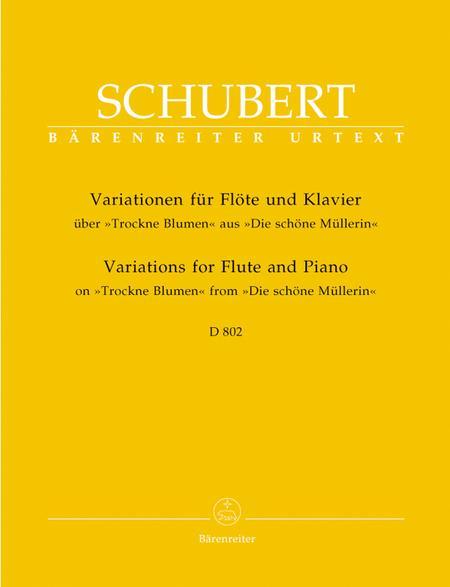 Variationen fur Flote und Klavier uber