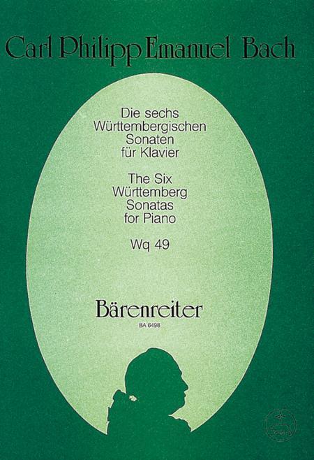 Die sechs Wurttembergischen Sonaten Wq 49
