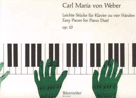 Leichte Stuecke for Piano (four hands) op. 10