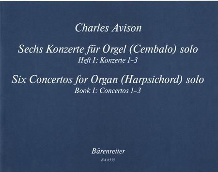 Sechs Konzerte for Solo Organ (manually) (Harpsichord)