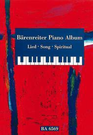 Barenreiter Piano Album. Lied / Song / Spiritual
