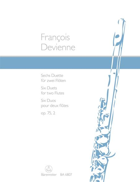 Six Duets for two Flutes op. 75/2