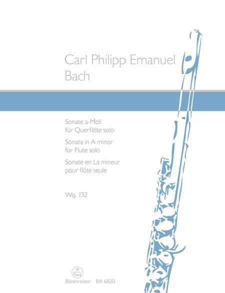 Sonata In A Minor For Solo Flute