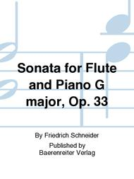 Sonata for Flute and Piano G major, Op. 33