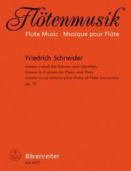 Sonata for Flute and Piano e minor, Op. 35