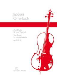 Zwei Duette for Violoncellos op. 52/2+3