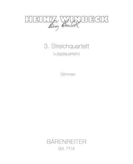 String Quartet No. 3 'Jagdquartett'