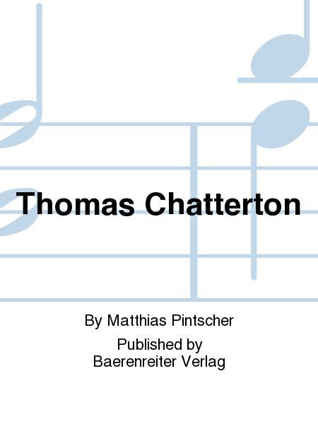 Thomas Chatterton (1994-1998)