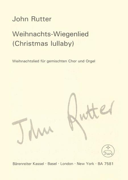 Weihnachtliches Wiegenlied - Christmas Lullaby