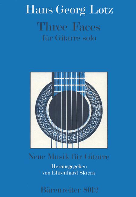 Three Faces for guitar