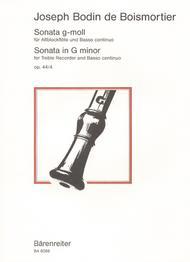 Sonata g minor op. 44/4