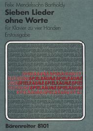 Sieben Lieder ohne Worte for Piano (four hands) op. 62/1-6, 67/1