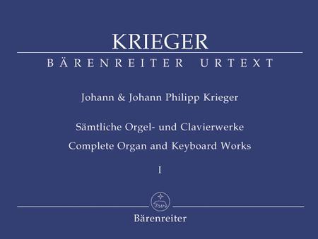 Samtliche Orgel- und Clavierwerke. Band 1