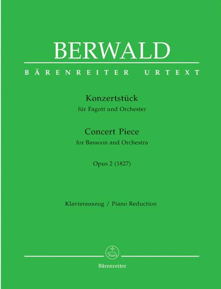 Konzertstueck for Bassoon and Orchestra op. 2