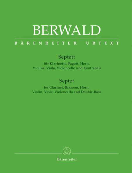 Septet for Clarinet, Bassoon, Horn, Violin, Viola, Violoncello and Double Bass