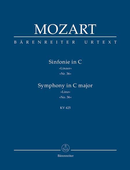 Symphony, No. 36 C major, KV 425 'Linz Symphony'