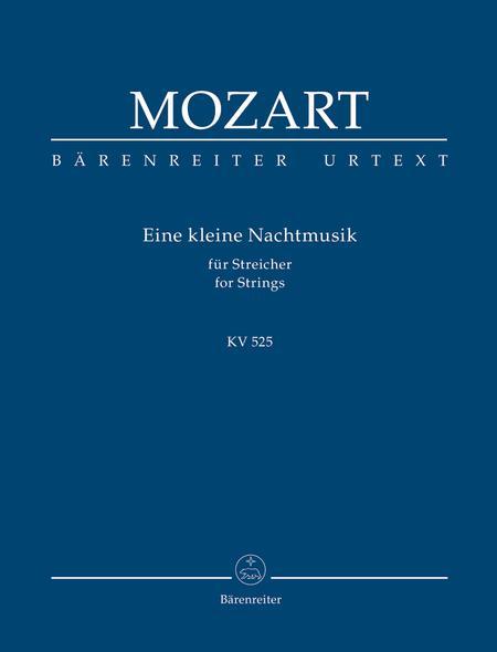 Eine kleine Nachtmusik for Strings and Winds G major KV 525