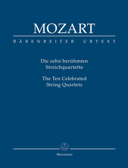 The Ten Celebrated String Quartets