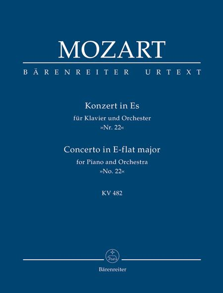 Concerto for Piano and Orchestra, No. 22 E flat major, KV 482