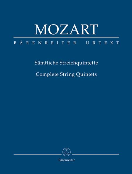 Complete String Quintets