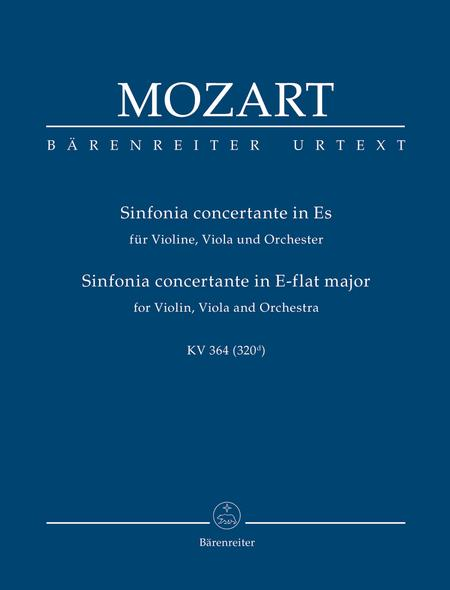 Sinfonia concertante for Violin, Viola and Orchestra E flat major, KV 364 (320d)