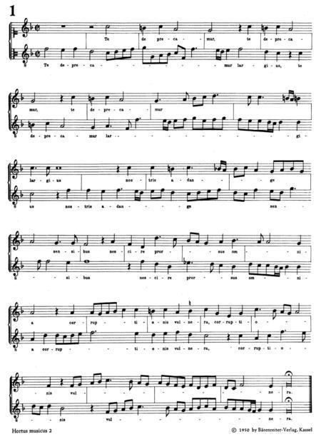 Bicinien zum Singen und Spielen auf Blockfloten oder anderen Instrumenten