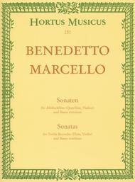 Sonatas for Treble Recorder (Querflote, Violine) und Basso continuo