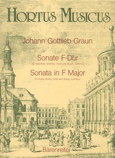 Sonate for Flute (Violin), Viola and Basso continuo F major