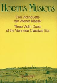 Three Duets for Violin from the Vienna Classical Period