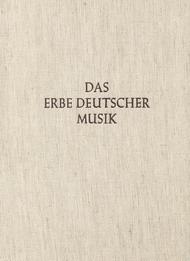 Neue teutsche weltliche Lieder 1595 / Convivalium concentuum Farrago 1609. Das Erbe Deutscher Musik, Sondereihe 1