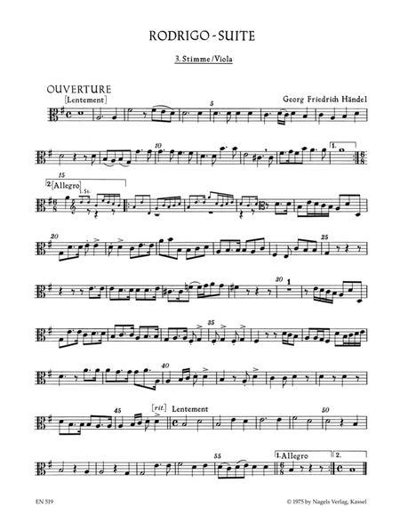 Rodrigo-Suite (Ouverture und sieben Tanzsatze aus der Oper